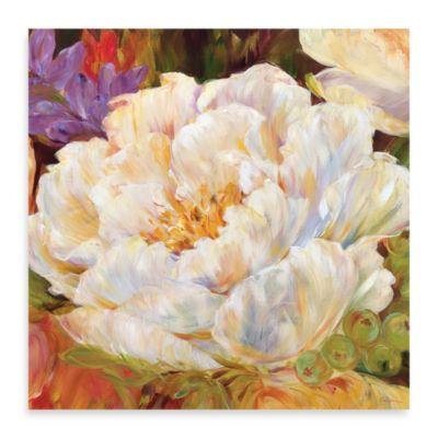 "Carson ""White Sonata"" Canvas Print"