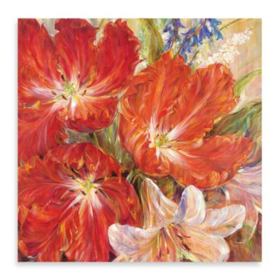 "Carson ""Spring Baroque"" Canvas Art"