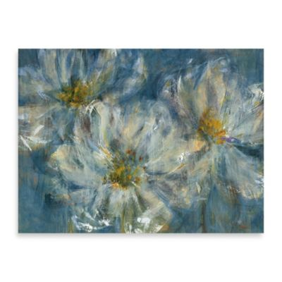 "Carson ""Blue Cosmos"" Canvas Print"