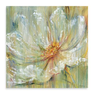 "Carson ""Celadon Splash II"" Canvas Print"