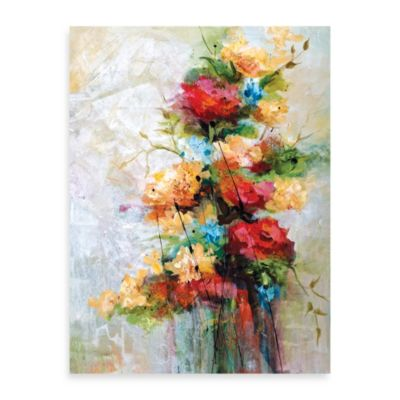 "Karen Hale ""Blooming Part 2"" Canvas Print"