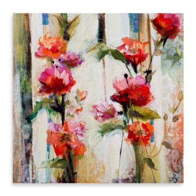 "Karen Hale ""Climbing Vine"" Canvas Print"