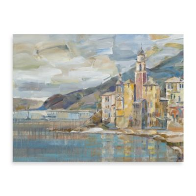 "Michael Longo ""Harbor Village"" Canvas Print"