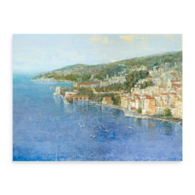 "Michael Longo, ""Coastal Afternoon"" Canvas Print"