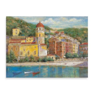 "Michael Longo ""Italian Riviera"" Canvas Art"