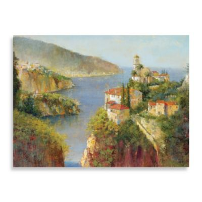 "Michael Longo ""Almafi Coast"" Canvas Print"