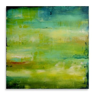 "Erin Ashley ""Endless Harmony"" Canvas 35-Inch x 35-Inch Wall Art"