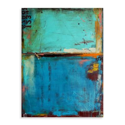 "Erin Ashley, ""Matchbook Blues"" Canvas Wall Art"