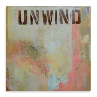"Erin Ashley ""Unwind"" Canvas Art"