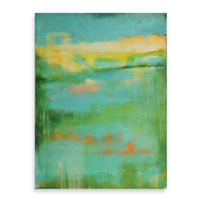 "Erin Ashley ""Tranquility Bay"" Canvas Art"