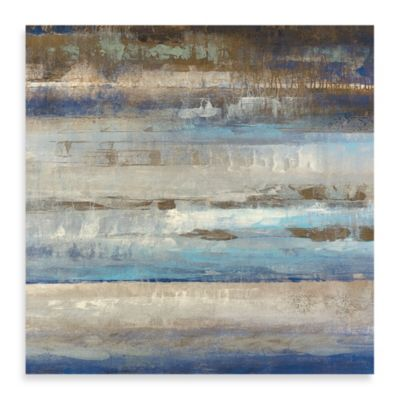 "Michael Longo ""Blue Horizon"" Canvas Print"