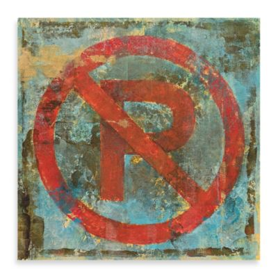 "Michael Longo, ""No Parking"" Canvas Wall Art"