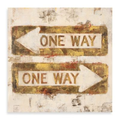 "Michael Longo ""One Way"" Canvas Art"