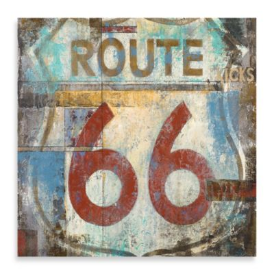 Route 66 Wall Art by Michael Longo