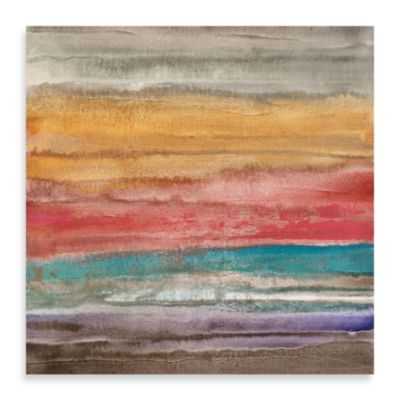"Michael Longo, ""New Horizon 1"" Canvas Art"