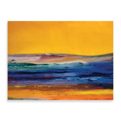 "Starlie Sokol-Hohne ""Orange Sky"" Canvas Art"