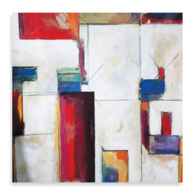 "Starlie Sokol-Hohne ""Colorblock 2"" Canvas Print"