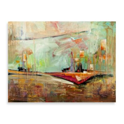 "Karen Hale ""Bright Spring Day"" Canvas Art"