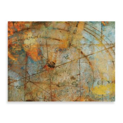 "Charlie Sokol-Hohne ""Map 1"" Canvas Art"