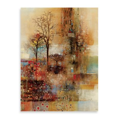 "John Douglas, ""Golden Park"" Canvas Wall Art"