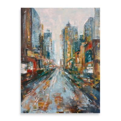 "City View"" Canvas Art"
