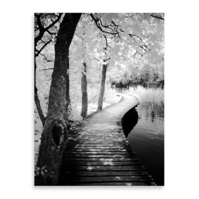"Ilona Wellmann ""Take a Walk"" Canvas Art"