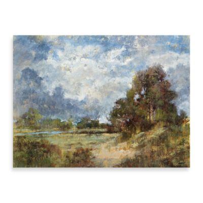 "Michael Longo ""Blue Dawn"" Canvas Print"