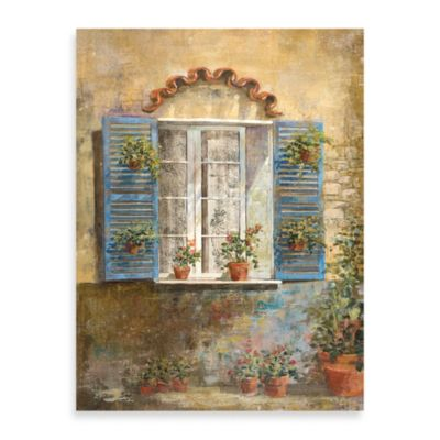 "Michael Longo ""Flora Façade IV"" Canvas Print"