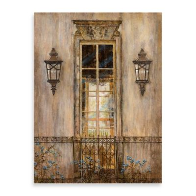 "Michael Longo, ""Garden View"" Canvas Wall Art"