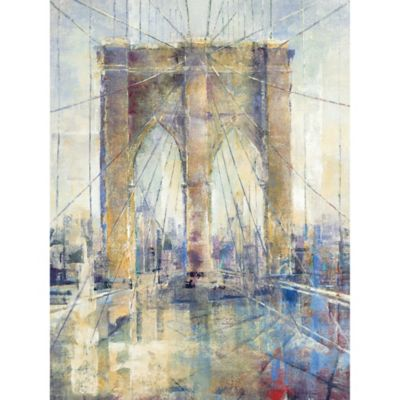 "Michael Longo ""Manhattan Crossing I"" Canvas Print"