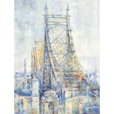 "Michael Longo ""Manhattan Crossing II"" Canvas Print"