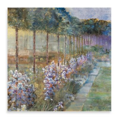 "Michael Longo ""Morning Irises"" Canvas Print"