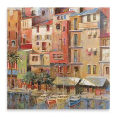 "Michael Longo ""Painted Palermo"" Canvas Art"