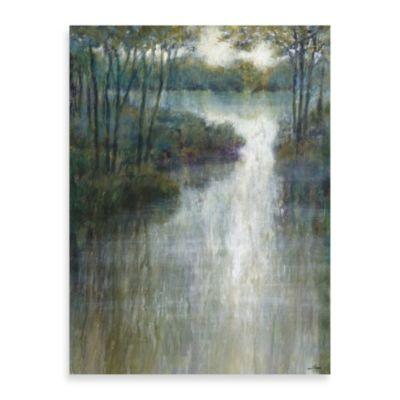 "Michael Longo ""Pond Reflections"" Canvas Art"