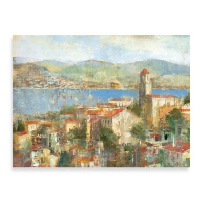 "Michael Longo ""Villaggio"" Canvas Art"