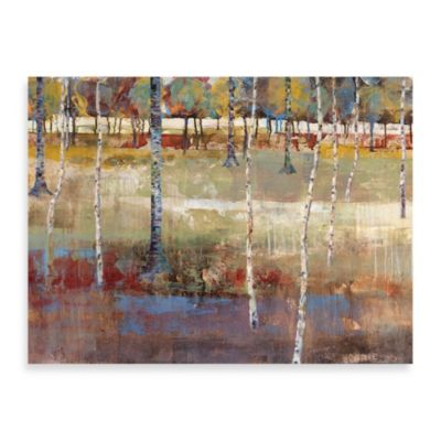 "Michael Longo ""Birch Forest"" Canvas Print"