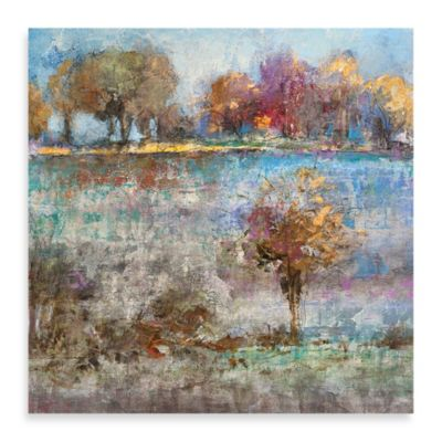 "Michael Longo ""Spring Landscape I"" Canvas Art"