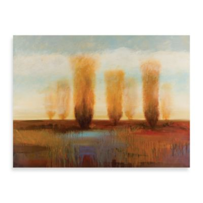 "Starlie Sokol-Hohne ""Along the River I"" Canvas Art"