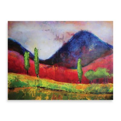 "Starlie Sokol-Hohne ""Blue Peak"" Canvas Print"