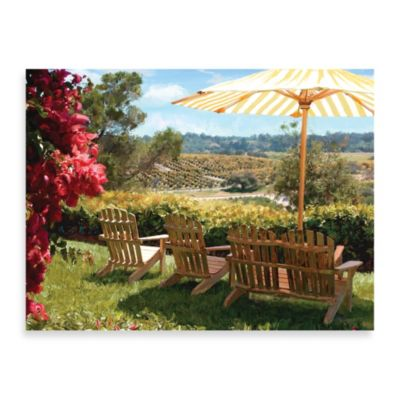 "Starlie Sokol-Hohne, ""Orchard Overlook"" Canvas Art"