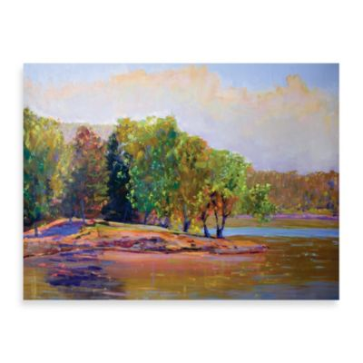 "Starlie Sokol-Hohne ""Summer Trees"" Canvas Print"