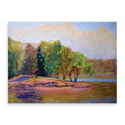 "Starlie Sokol-Hohne ""Summer Trees"" Canvas Print"