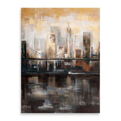 """Tuesday's View"" Canvas Art"
