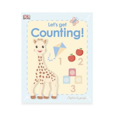 My First Sophie la girafe: Let's Get Counting! Board Book