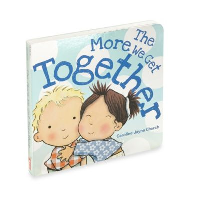 The More We Get Together Board Book by Scholastic