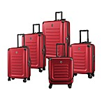 Spectra 8-Wheel Travel Case Collection in Red