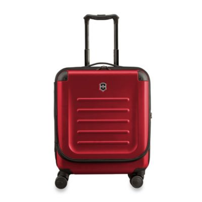 Spectra 8-Wheel Travel Case with Quick-Access Door in Red