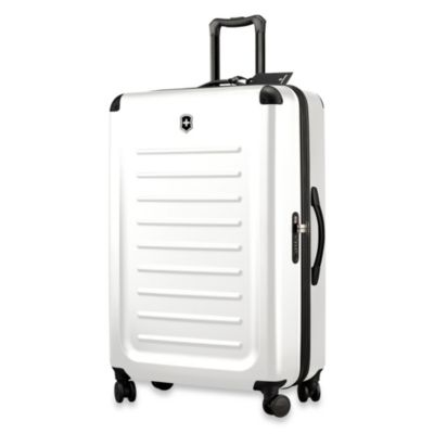 Spectra 8-Wheel 32-Inch Travel Case in White