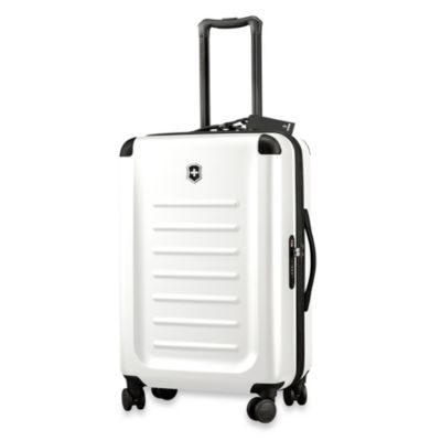Spectra 8-Wheel 26-Inch Travel Case in White