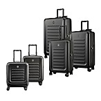 Spectra 8-Wheel Travel Case Collection in Black